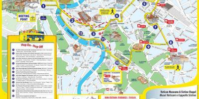 Mapa De Roma Turistico.Roma Mapa Mapas Roma Lazio Italia