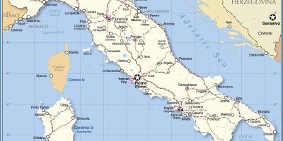 Mapa De Italia Roma.Roma Mapa Mapas Roma Lazio Italia